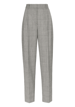Givenchy check print high-waisted tailored trousers - Black