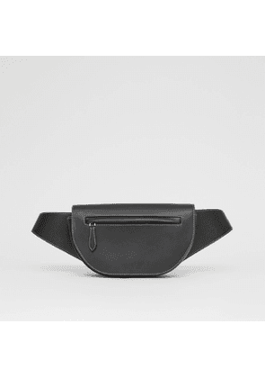 Burberry Small Topstitched Leather Olympia Bum Bag