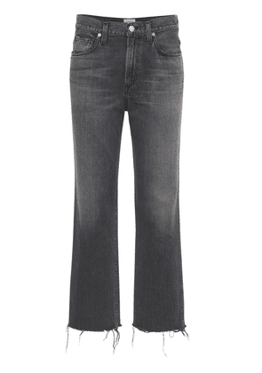 Daphne Crop High Waist Stovepipe Jeans
