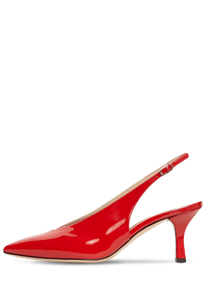 60mm Nico Patent Leather Slingback Pumps