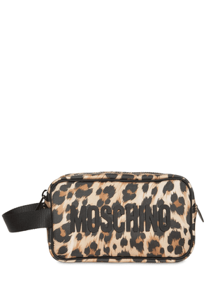 All Over Leopard Toiletry Bag