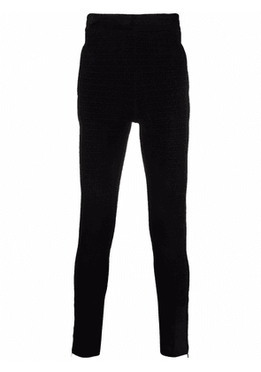Givenchy 4G knitted jogging bottoms - Black