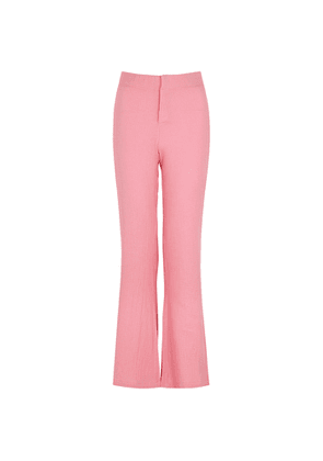 Gimaguas Comporta Pink Flared Cotton Trousers
