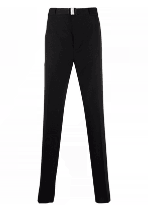 Givenchy belted straight-leg trousers - Black