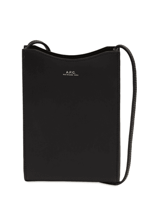 Jamie Leather Neck Pouch