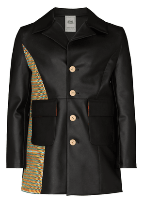 Bethany Williams book waste patch jacket - Black