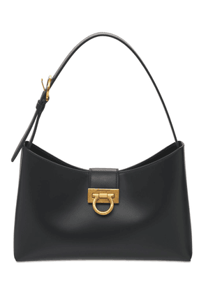 Small Trifolio Leather Shoulder Bag