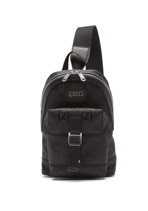 Gucci - Off The Grid Gg-jacquard Canvas Backpack - Mens - Black
