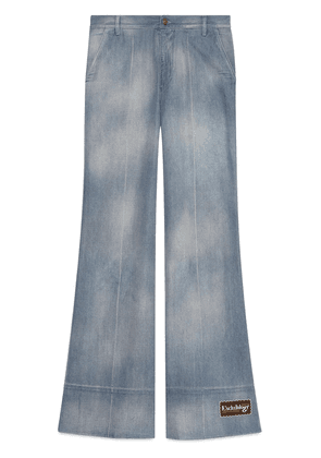 Gucci faded flared jeans - Blue