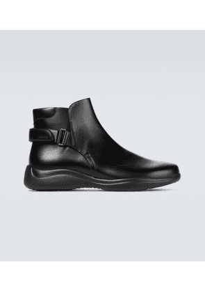 Toblach brushed leather boots