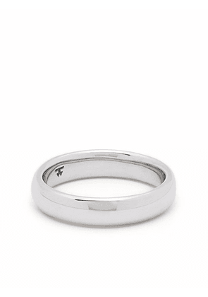 Tom Wood Classic Band Medium sterling silver ring