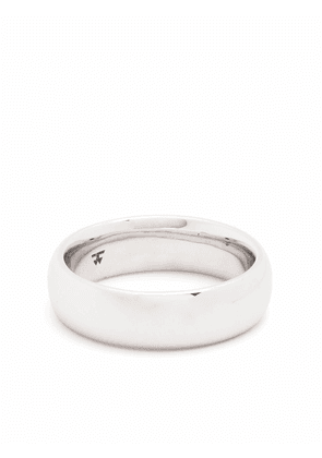 Tom Wood Classic Band Large sterling silver ring