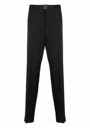 Givenchy belted wool tailored trousers - Black