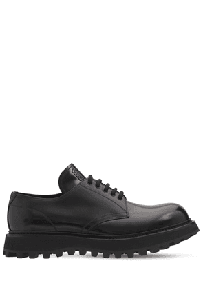 Bernini Leather Lace-up Derby Shoes