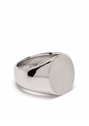 Tom Wood Oval sterling silver ring