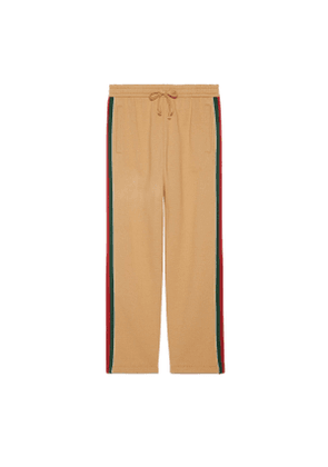 Cotton trousers with Web