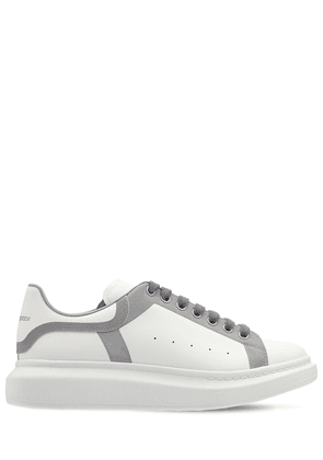 45mm Reflective Leather Sneakers