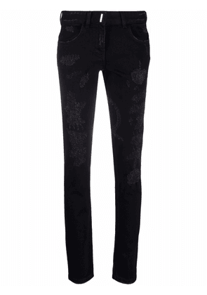 Givenchy distressed skinny jeans - Black
