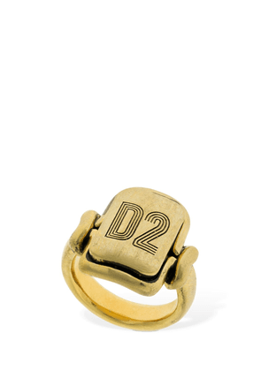 D2 Squared Thick Ring
