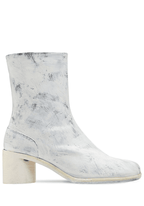 60mm Tabi Bianchetto Leather Boots