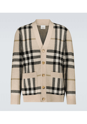 Wilmore wool and cashmere cardigan