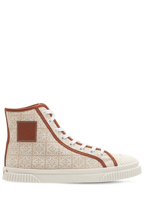 10mm Anagram Canvas High-top Sneakers