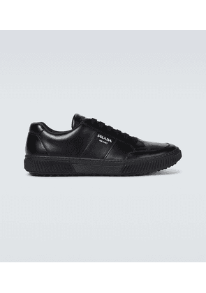 Linea Rossa leather sneakers
