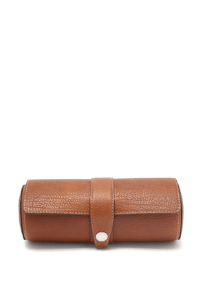 Brunello Cucinelli - Leather-faced Wood Watch Case - Mens - Brown