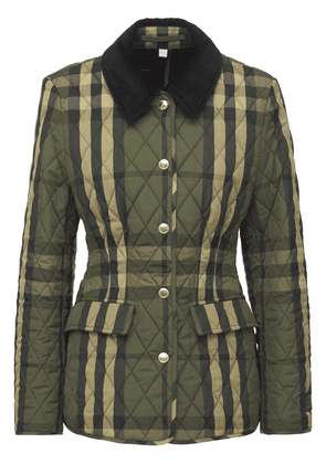 Lydd Check Quilted Jacket