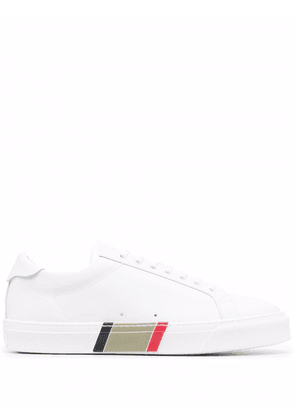 Burberry Icon stripe lace-up sneakers - White