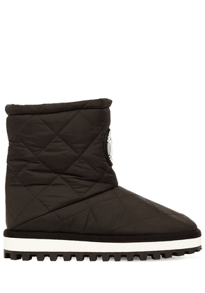 10mm City Quilted Nylon Snow Boots
