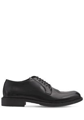 30mm Leather Derby Lace-up Shoes