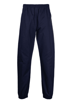 Off-White elasticated waistband cotton trousers - Blue