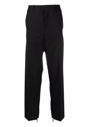 Off-White zip detail tailored trousers - Black