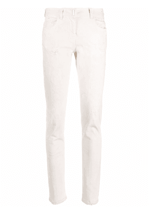Givenchy distressed skinny jeans - White