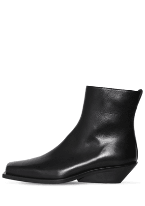 Henrik Leather Ankle Boots