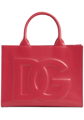 Small Dg Daily Embossed Leather Bag