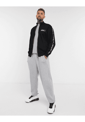 Blood Brother enfield track top in black