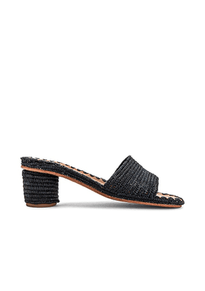 Carrie Forbes Bou Sandal in Black. Size 37, 39, 40.