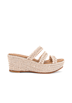 Carrie Forbes Said Sandal in Neutral. Size 36, 37, 38.