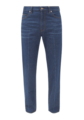 Gucci - Logo-patch Jeans - Mens - Navy