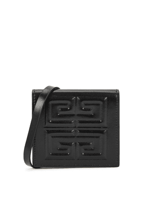Givenchy 4G Black Leather Pouch