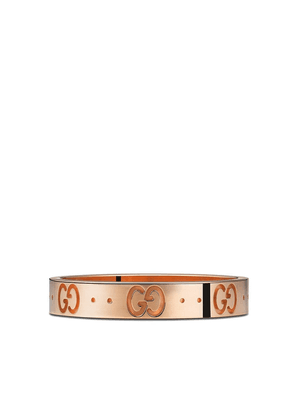 Gucci 18kt rose gold Icon band - Pink