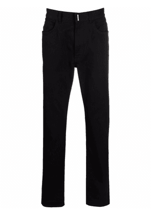 Givenchy high-rise slim-fit jeans - Black