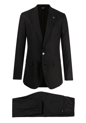 Dolce & Gabbana single-breasted two-piece suit - Black