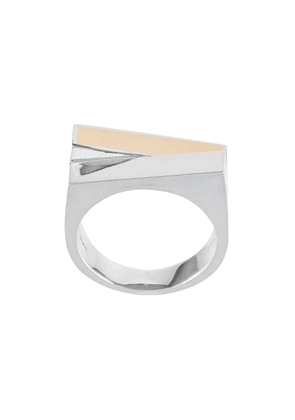 M. Cohen Stackio sterling silver ring