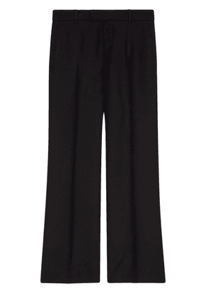 Gucci tailored straight-leg trousers - Black