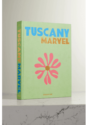 Assouline - Tuscany Marvel By Cesare Cunaccia Hardcover Book - Dark green