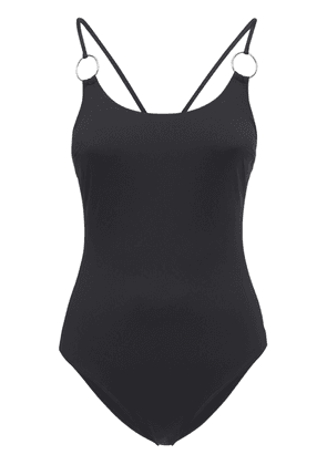 Back Crossed One Piece Swimsuit