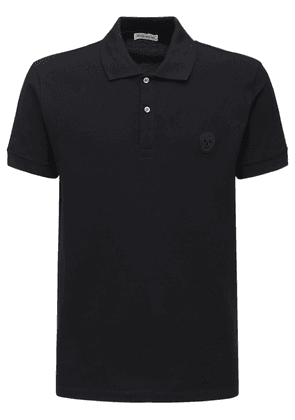 Skull Patch Cotton Polo